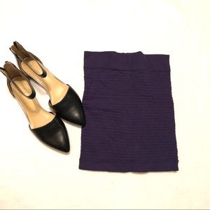 BCBG Blue mini skirt